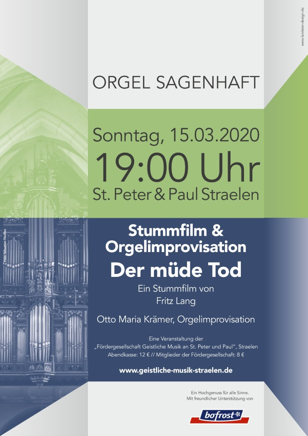 Stummfilm & Orgel am 15.03.2020